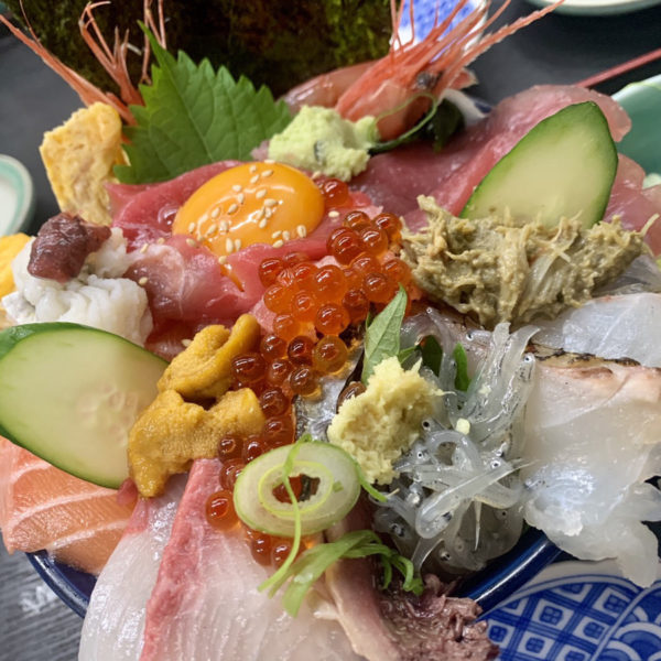 上海鮮丼ランチ